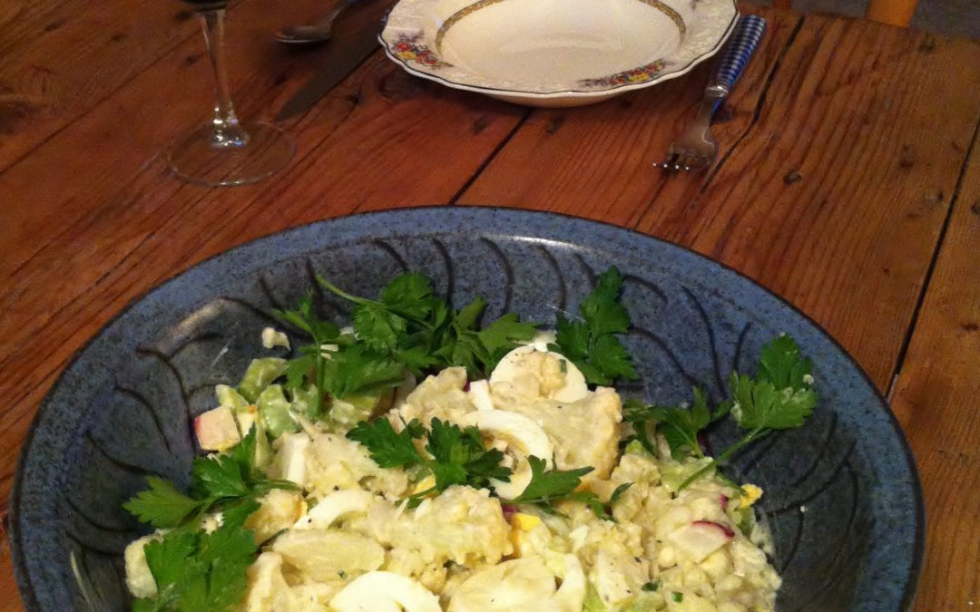 No-Potato Potato Salad and Sisterly Ocean Awesomeness